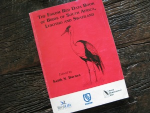 The Red Data book that was last published in 2000
