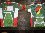 The RFCG cycle top that will be seen at the 9 day 900km joBerg2c cycle race.