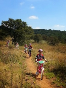 Young kids enjoying the great outdoors. Photo Eelco Meyjes