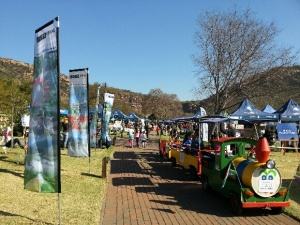 Children were kept well entertained at the recent  BirdLife SA SASOL bird fair just outside Johannesburg