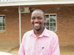 Mr. Michael Matsila .Agronomy officer at Botswana Minitry of Agriculture. Photo Eelco Meyjes