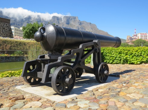 The starters cannon in Cape Town
